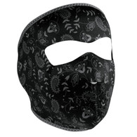 Face Mask - Dark Paisley