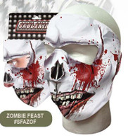 Zombie Feast Ski Face Mask