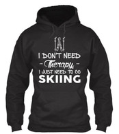 I DON'T NEED -Therapy- I JUST NEED TO GO SKIING
