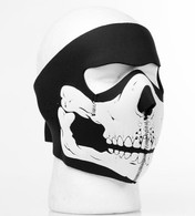 3D Skull Mouth Full Ski Mask