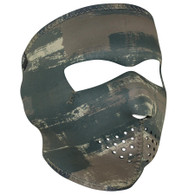 Dark Brushed Camo Ski Mask