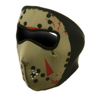 Ski Full Face Mask - Glow Jason - Front