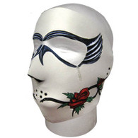 Dark Rose Neoprene Face Mask