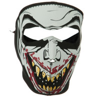 vampire Ski face mask front view