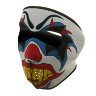 Ski Full Face Mask - Clown - Front View
