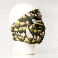 Green Dragon Ski Face Mask