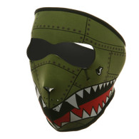 Bomber Ski Face Mask Front View