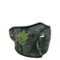 Forest Camo 1/2 Face Mask