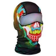 Electric Skull Ski Mask