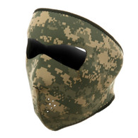 Digital ACU Ski Full Mask Front View