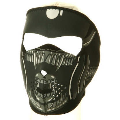 Alien Ski Face Mask Front View