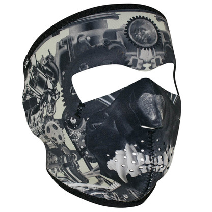 Sprocket Skull Ski Mask