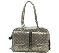 Alex Bag Gunmetal Snake