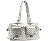 Alex Luxe Bag Silver