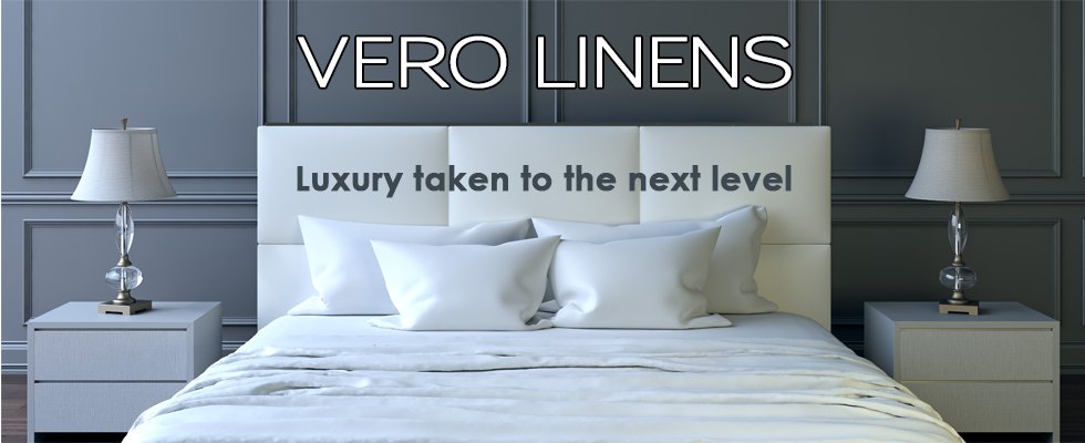 At Vero Linens, we produce the finest luxury Italian bed linens on earth. We use the finest grades of cotton in the construction of our outstanding bed sheets, duvet covers, pillowcases, flat & fitted sheets.