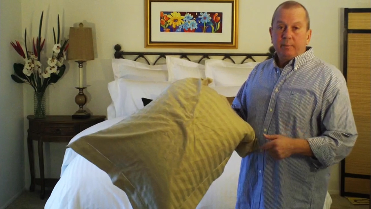 How to get wrinkles out of bed linens without ironing