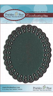 Scalloped Oval - Die