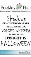 Shadows - Red Rubber Stamp