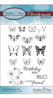 Mini Butterflies 2 - Clear Stamp Set