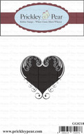 Large Swirl Heart