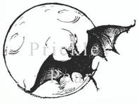 Bat in the Moon