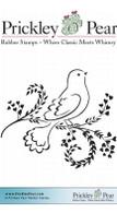 Dove on Heart Vines