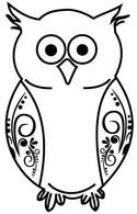 Flourished Owl