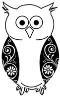 Flourished Owl 2