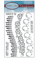 Scalloped Border Clear Stamps