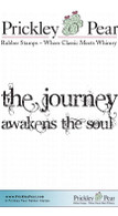 Journey Awakens - Red Rubber Stamp