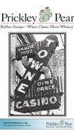 Towne Casino - Red Rubber Stamp