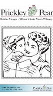 Mothers Gift - Red Rubber Stamp