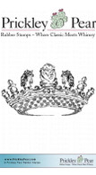Royal Crown - Red Rubber Stamp