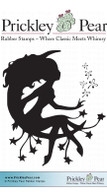 Fairy Dust - Red Rubber Stamp