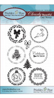 Circles Set - Winter - Clear Stamp Set