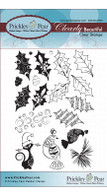 Holly & Berries - Clear Stamp Set