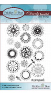 Steampunk Gears - Clear Stamp Set