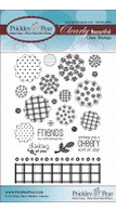 Blobby Flowers - Clear Stamp Set