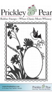 Fanciful Flight ATC - Red Rubber Stamp