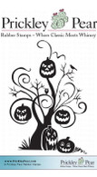 Whomping Willow - Red Rubber Stamp