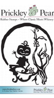 Pumpkin Jack - Red Rubber Stamp