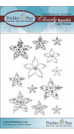 Poinsettia 2 Holiday - Clear Stamp Set