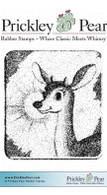 Rudolph Snapshot - Red Rubber Stamp
