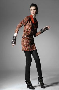 Warhol-print Stretch Cotton Mini Dress
