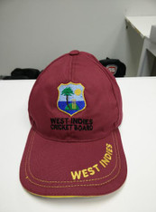 West Indies Cricket Replica Hat.