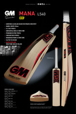 2017 GM Mana Dxm Cricket Bat.