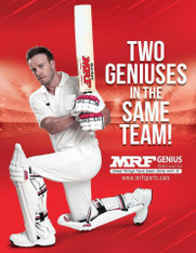 2017 MRF Elite AB De Villers Cricket Bat.