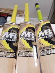 MB Bubber Sher Cricket Bat.