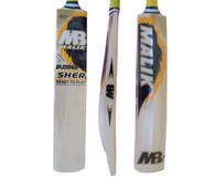 MB Malik Bubber Sher Cricket Bat.