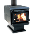 Kent Tilefire Freestanding Rural Wood Fire